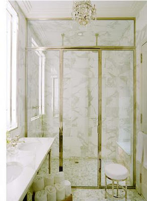 I See U201cRalphu201d As In Ralph Lauren Chose A Free Standing Fancy Brass Towel  Holder, No Doubt It Warms Them Too!