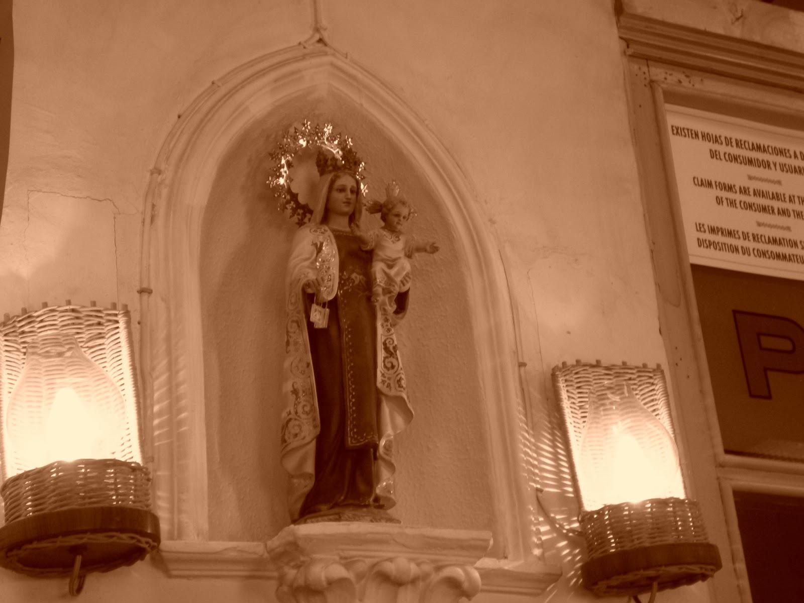 Virgen del Carmen en José María de la Fuente