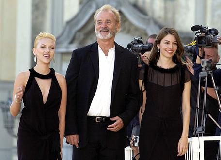 """Con Scarlett Johansson y Bill Murray en la presentación de """"Lost in"""