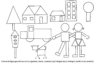 dibujos con figuras geometricas