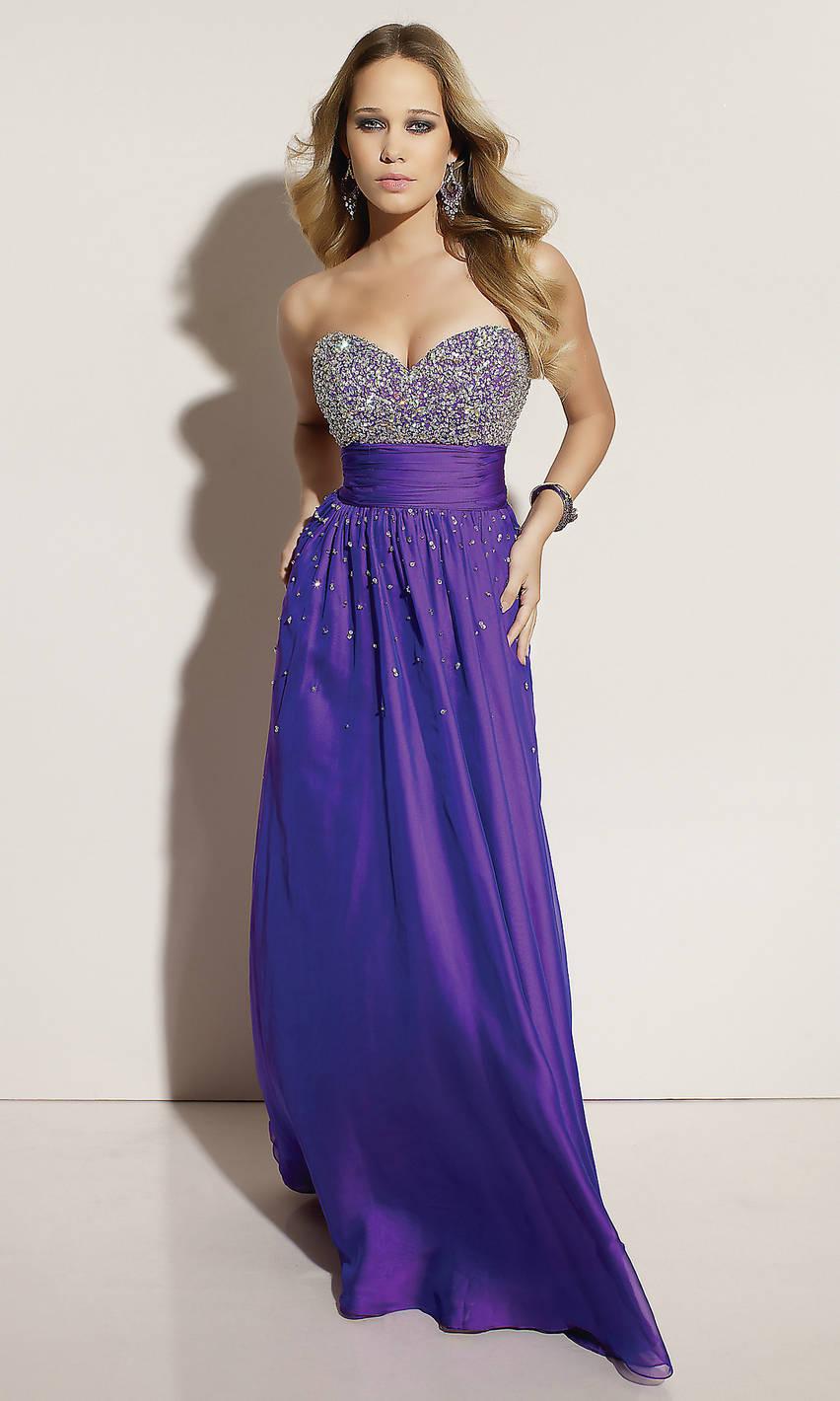 Purple Occasion Dress: Gorgeous Purple Prom Dresses