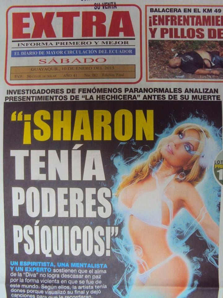 Sharon tenía poderes especiales