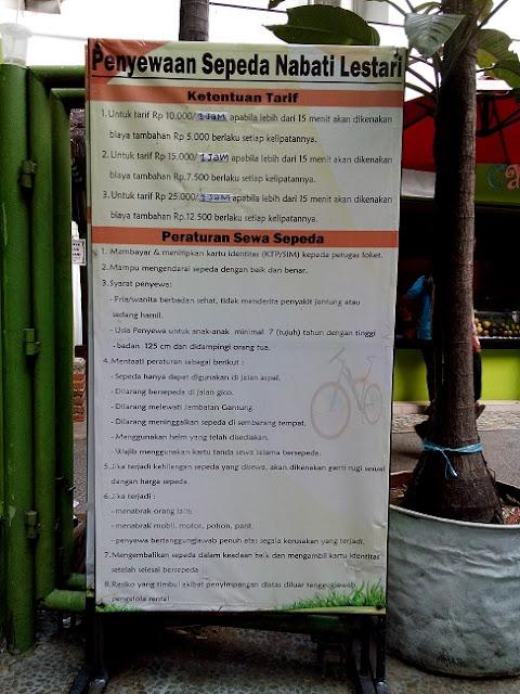 Peraturan Penyewaan Sepeda - Blog Mas Hendra