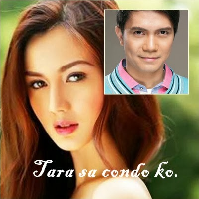 Deniece Cornejo and Vhong Navarro