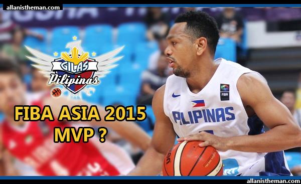 Gilas Pilipinas' Jayson Castro included in 2015 FIBA Asia MVP race (VIDEO)
