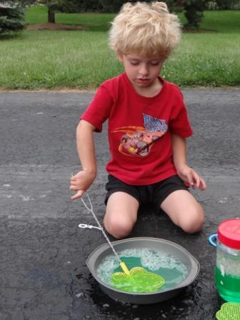 how to make large bubbles