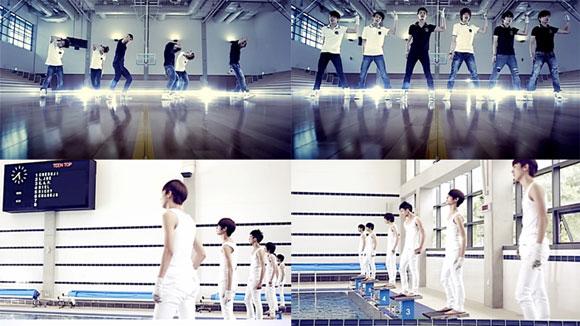 Teen Top hé lộ những cảnh quay chưa từng công bố trong MV Clap Encore, mv kpop, teen top