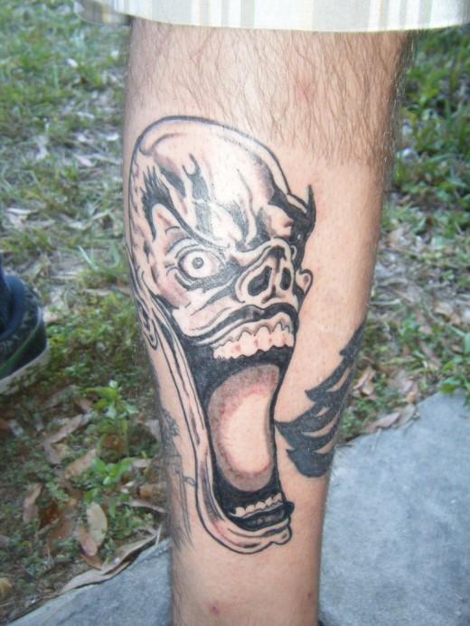 Clown Tattoo Designs For Men and Women 2011