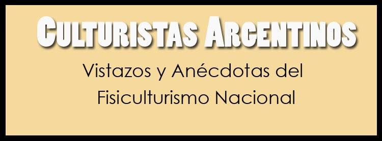 CULTURISTAS ARGENTINOS