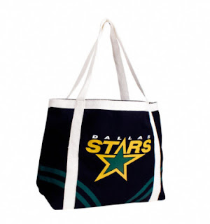 Dallas Stars NHL Canvas Beach Tote Bag