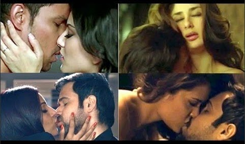 Bollywood Top 10 Hot Scenes Last One Year