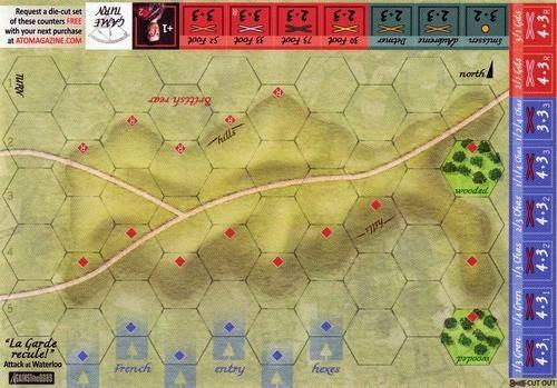 La Garde Recule map