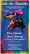 Anuncian a Paco Céspedes y Oscar Quiñones en Santa Ana- Huancavelica, 23/05