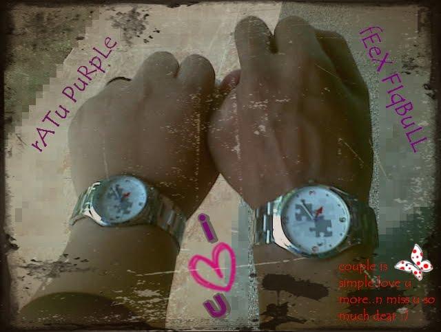 tanda cinta aku n die ♥