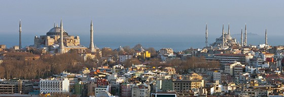 Sultan Ahmet Mosque location