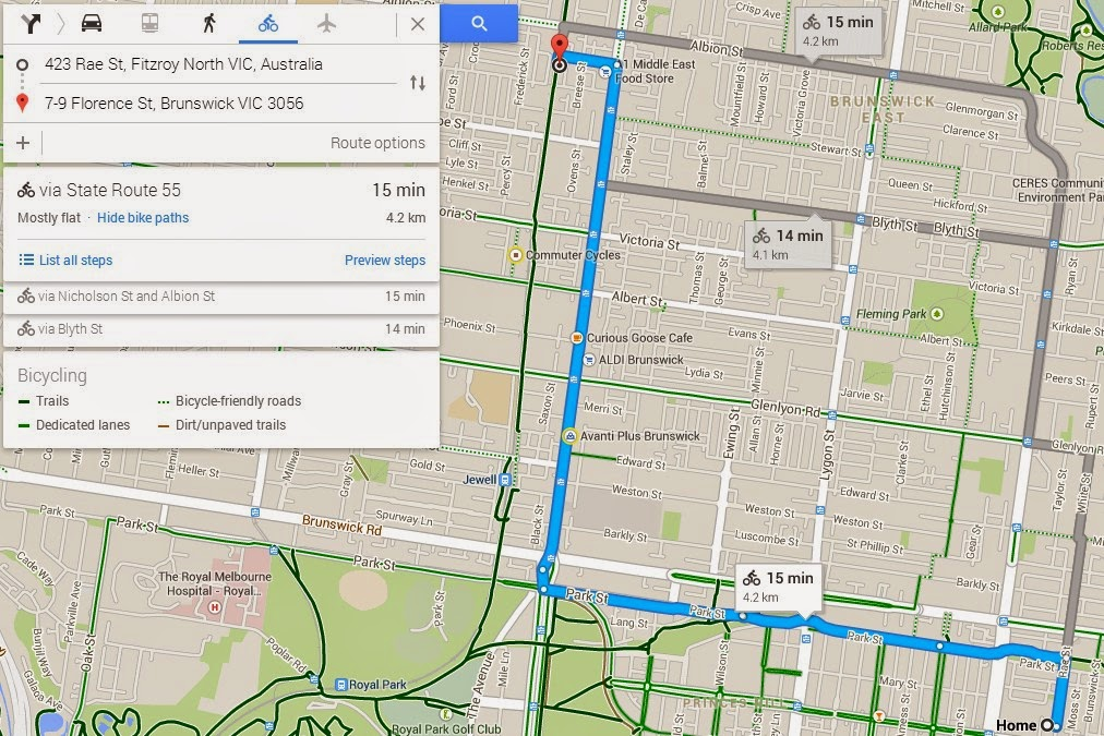 How Accurate Are Google Maps Cycling Time Estimates Better By Bicycle - Measure a running route on google maps