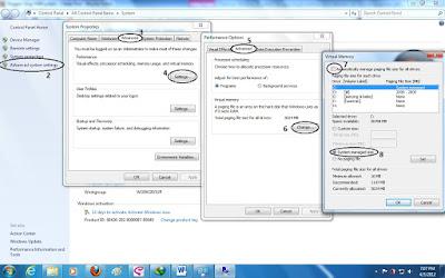 Optimasi Windows dengan Virtual Memory