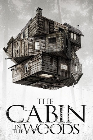 Poster Of The Cabin in the Woods 2012 English 300MB BRRip 480p Free Download Watch Online