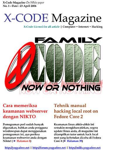 X Code Magazine 01