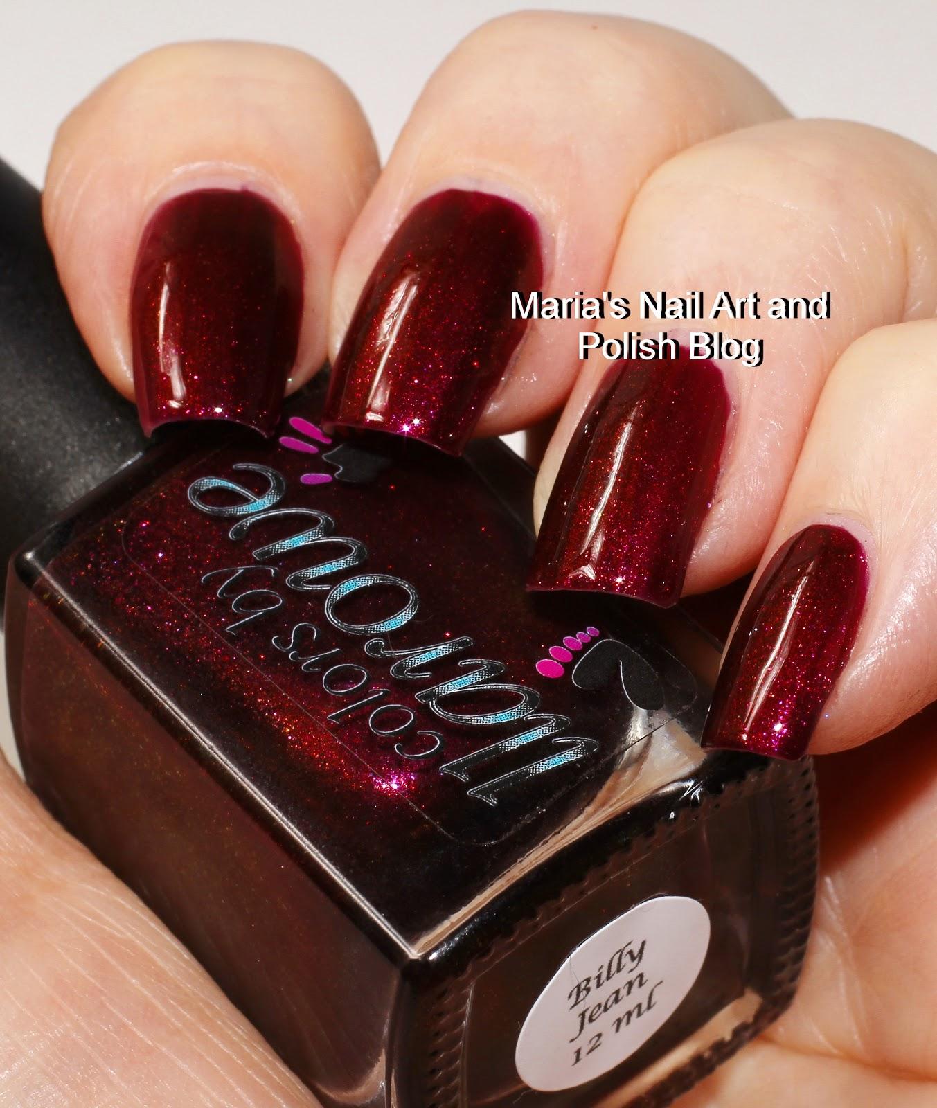 Marias Nail Art And Polish Blog Colors By Llarowe Billy Jean And