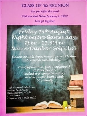 Class of 62 Reunion - Friday 14th August