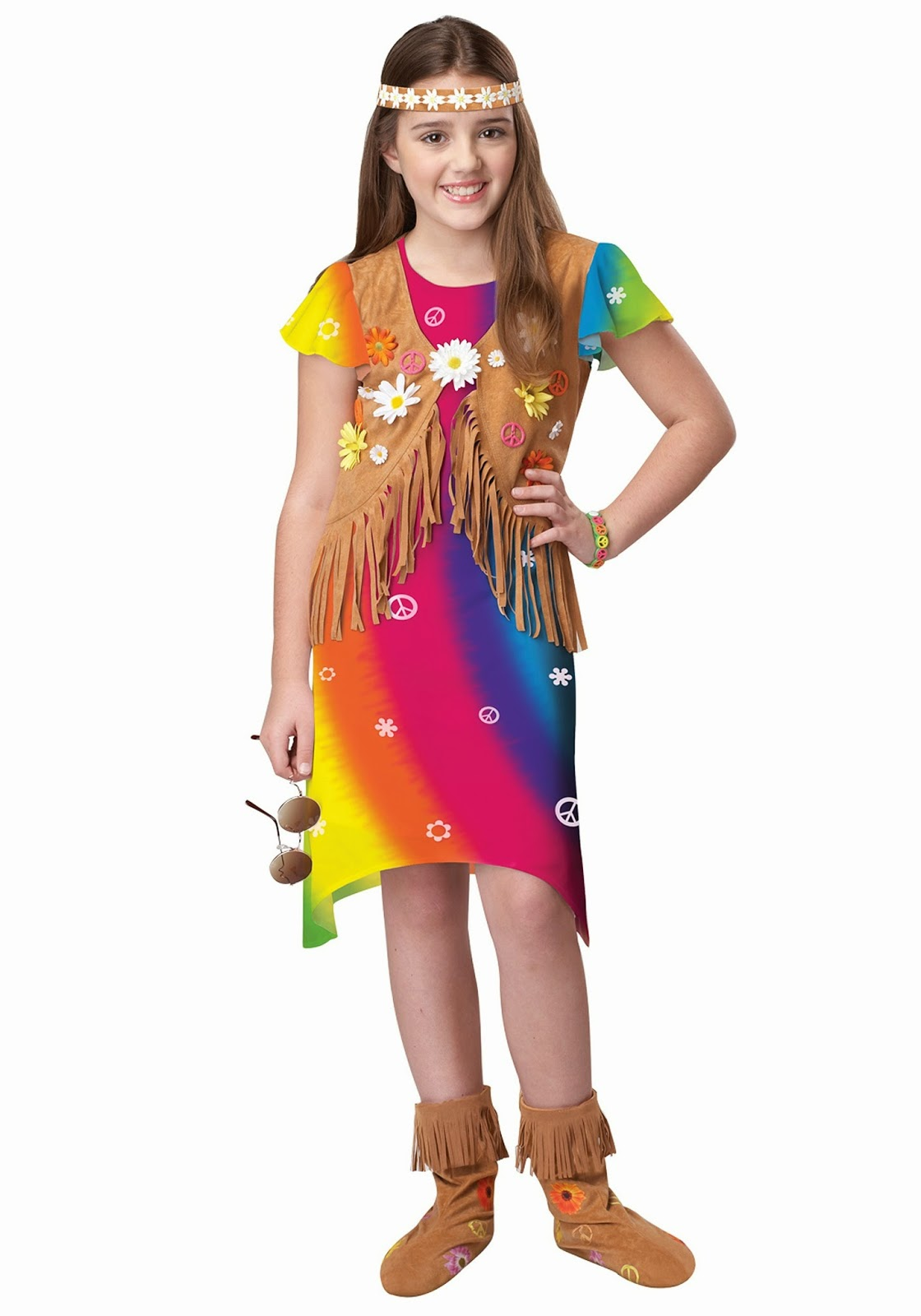 Girls Flower Costume