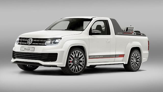 Volkswagen's V6 TDI Power-Pickup Amarok Concept