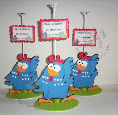 centro-de-mesa-da-galinha-pintadinha