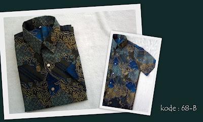 Baju Batik Pria 68B