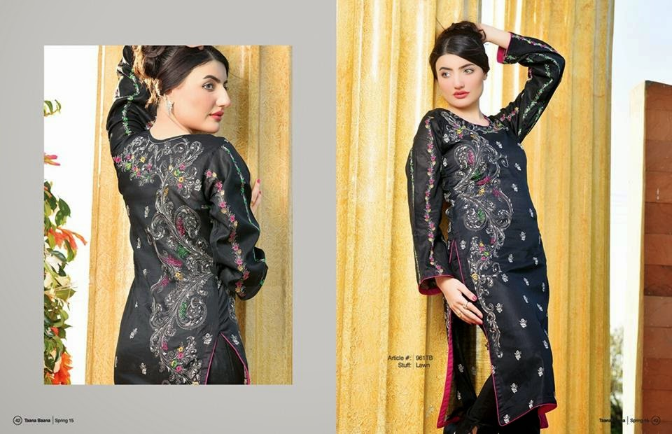 Taana Baana latest summer lawn prints 2015