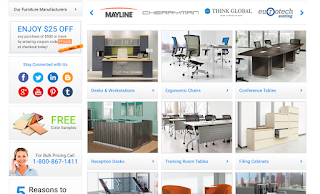 OfficeAnything.com responsive web design