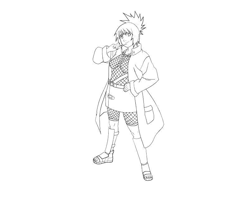 printable-naruto-anko-mitarashi-funny_coloring-pages-2