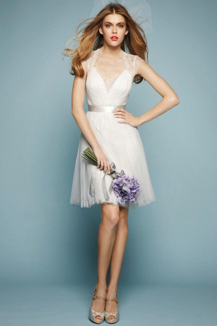 Elegant Affairs: Fancy a short wedding dress?