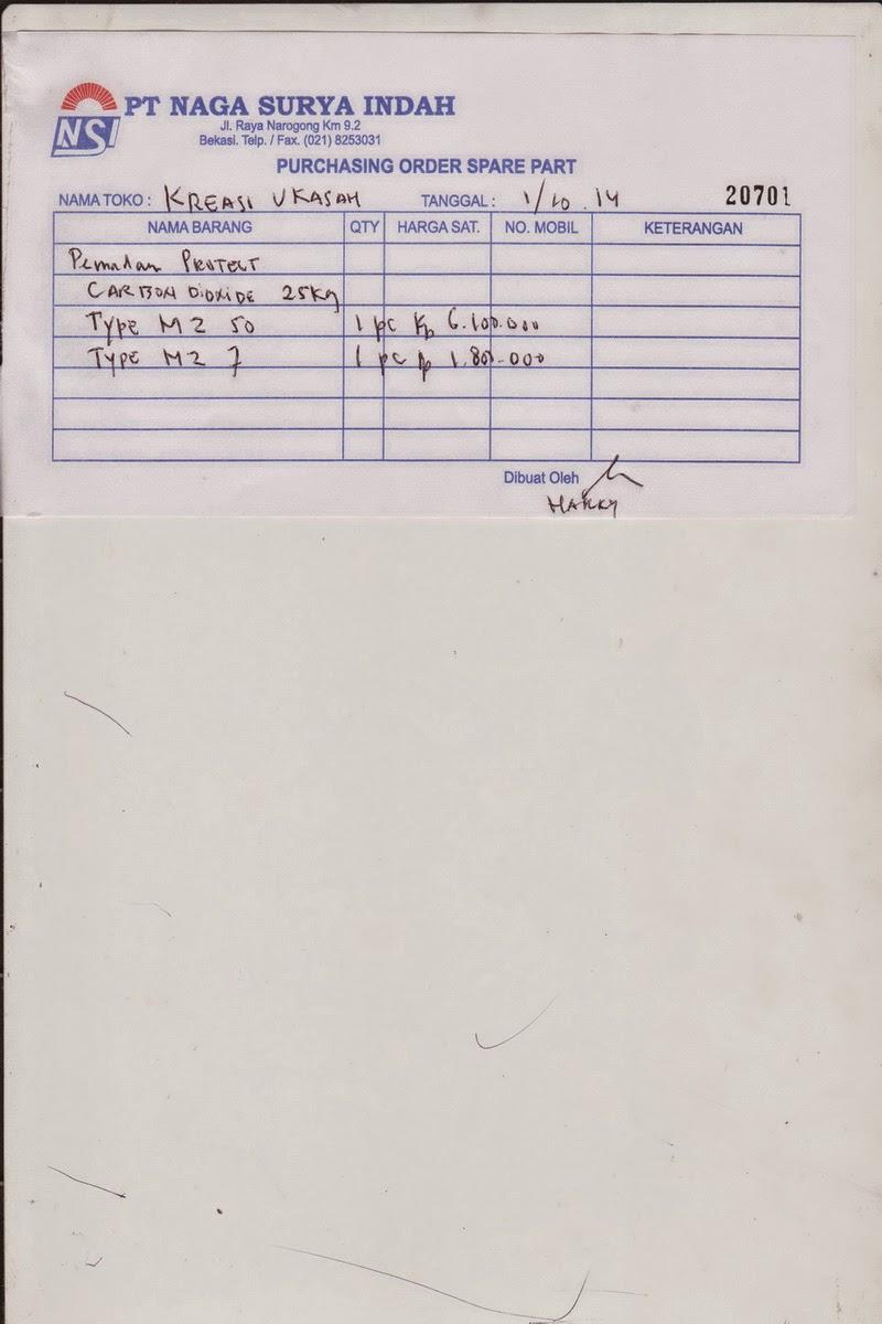 PO PT. Naga Surya Indah