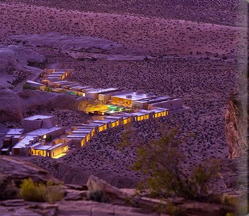 أمونجيري أجمل فندق صحراء أمريكا amangiri_exterior_fu