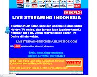 Cara Membuat Halaman TV ONLINE di Blog