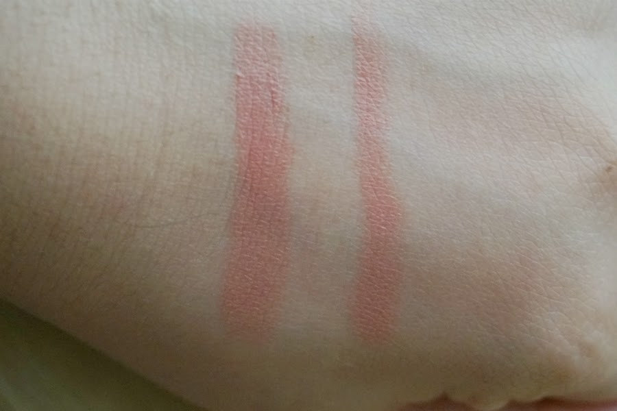 Swatch: LB Cosmetics Jewel Watery Rouge in Nudy Pink