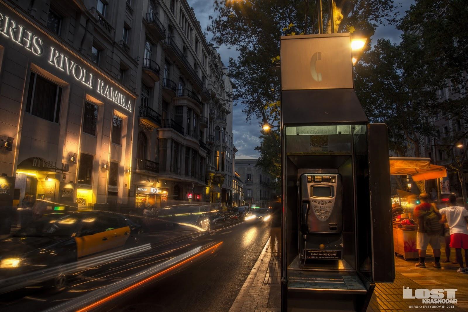 payphone Barcelona