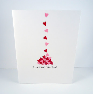 i love you bunches valentines day card