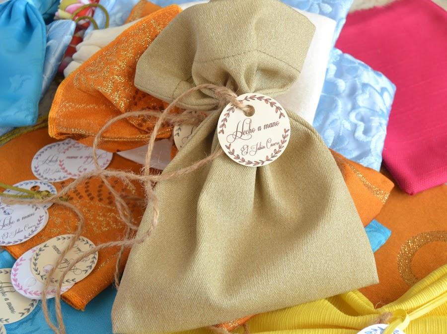 Bolsitas para jabones y balsamos el jabon casero regalo natural