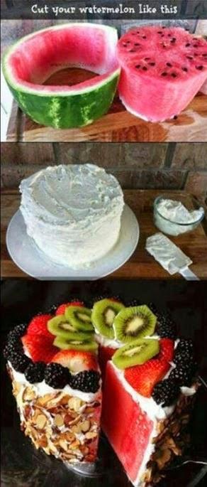 Cara-cara membuat kek buah yang mudah dan cepat!