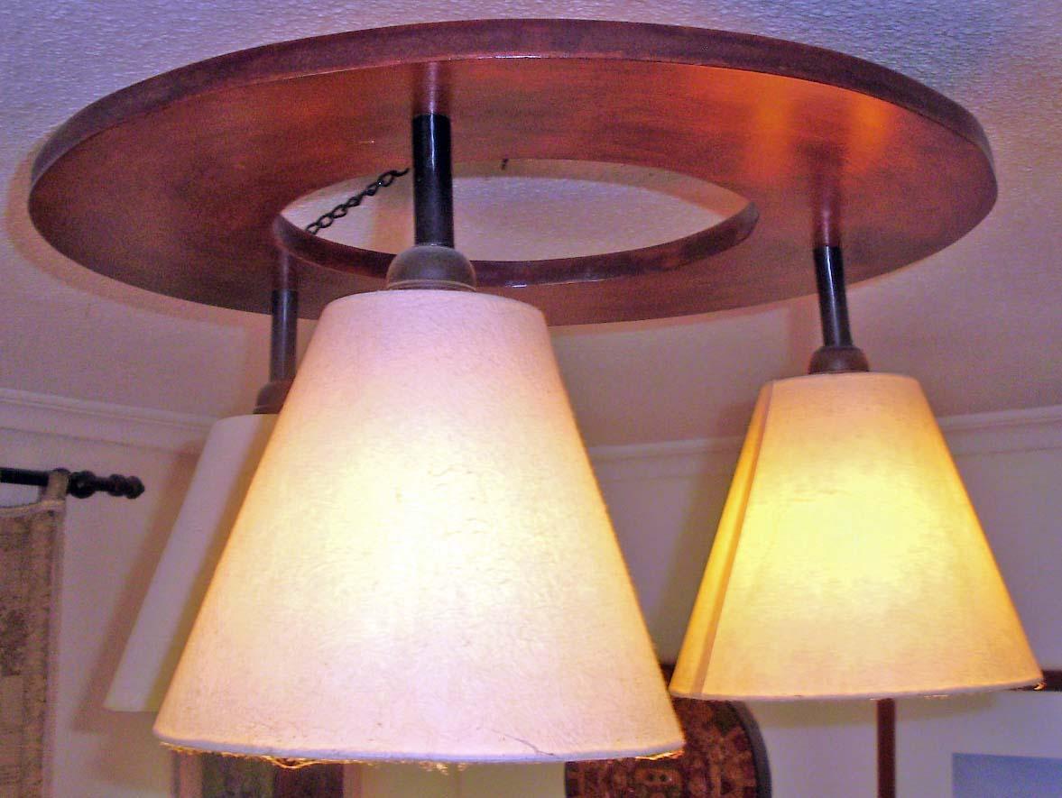 Hacer una lámpara de techo DIY sencilla y económica