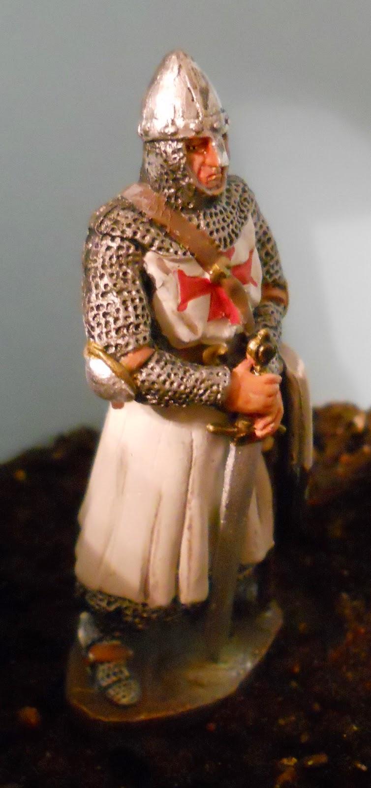 figura de caballero medieval