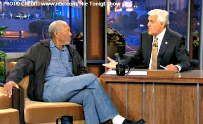 Morgan Freeman with Jay Leno, Talking UFOs