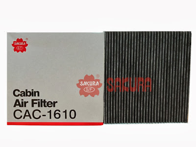 Cabin Air Filter - Filter AC Honda Civic'08, Accord