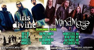 IRIS DIVINE, MINDMAZE tour