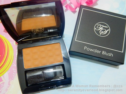 FS Powder Blush, BDJ Box May 2015, BDJ Box subscription, BDJ Box unboxing