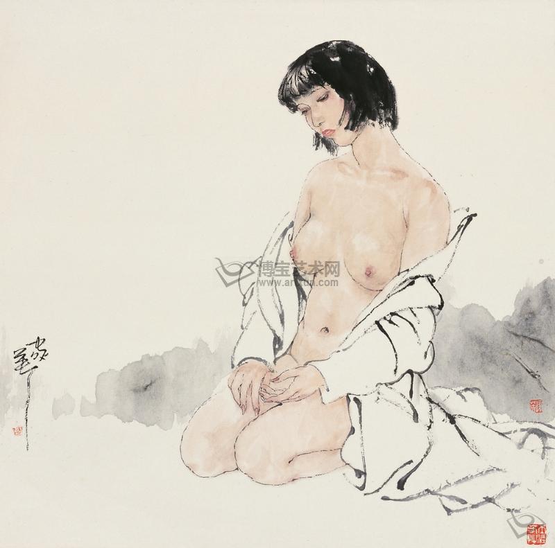 Эротические рисунки современных китайских художников