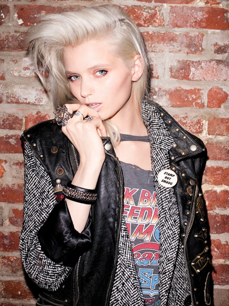 Abbey Lee Kershaw by Terry Richardson for Moussy Fall 2011 Campaign