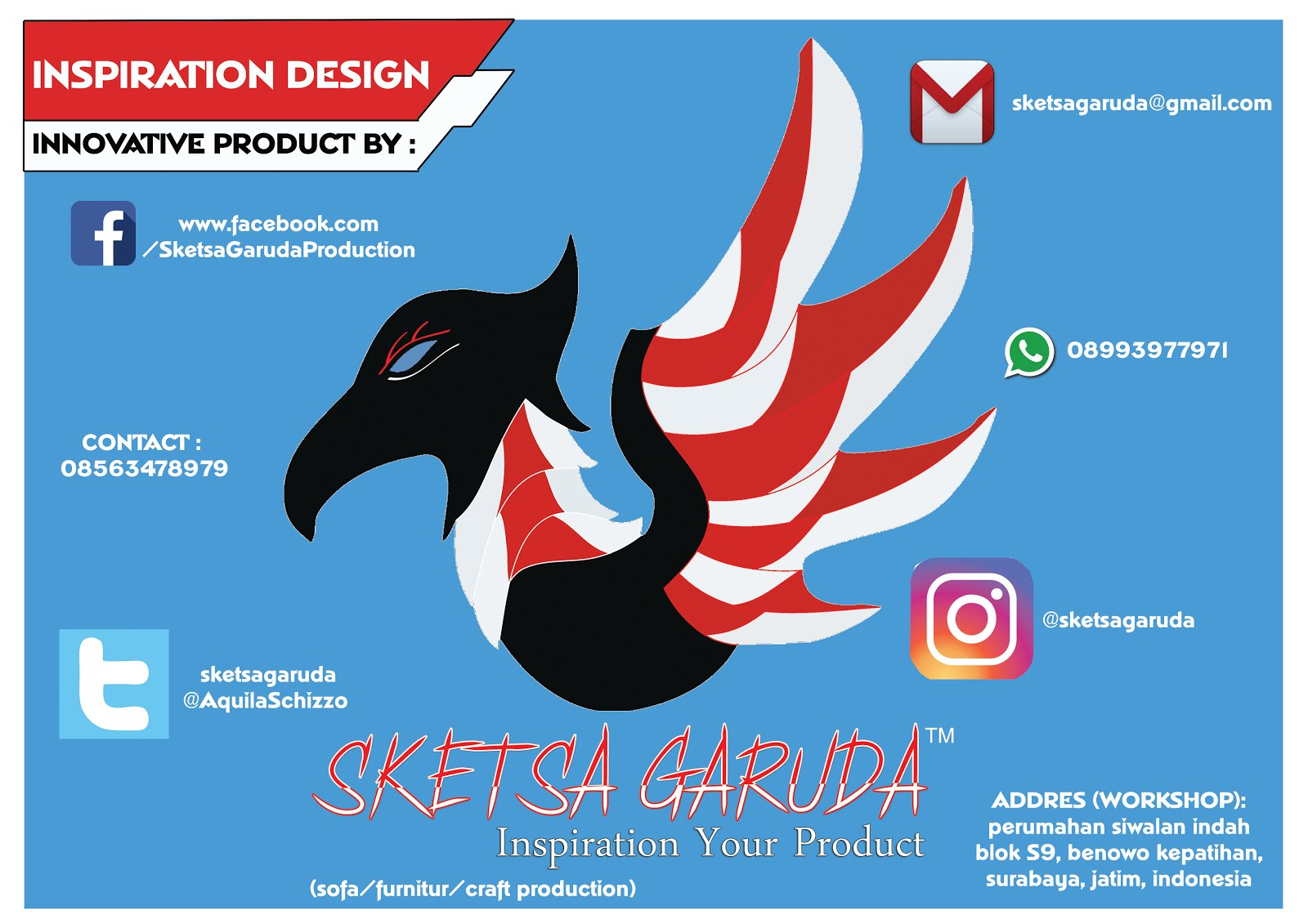 Sketsa Garuda Production